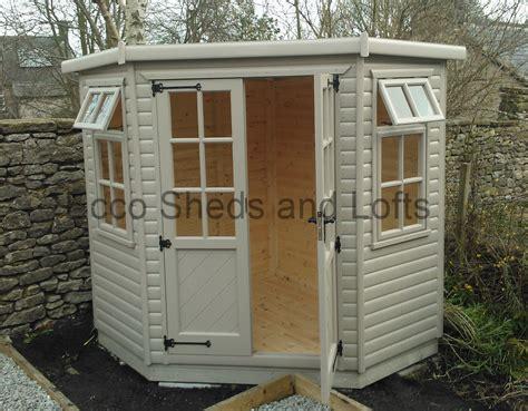 corner summer houses ecco sheds  pigeon lofts