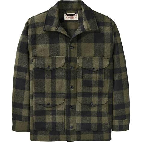 filson mackinaw cruiser alaska fit jacket mens backcountrycom