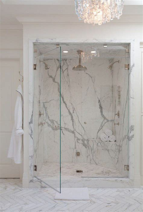 Got You Tiptoeing On My Marble Floors by Cultured Marble Walk In Shower Modern Bathroom Design