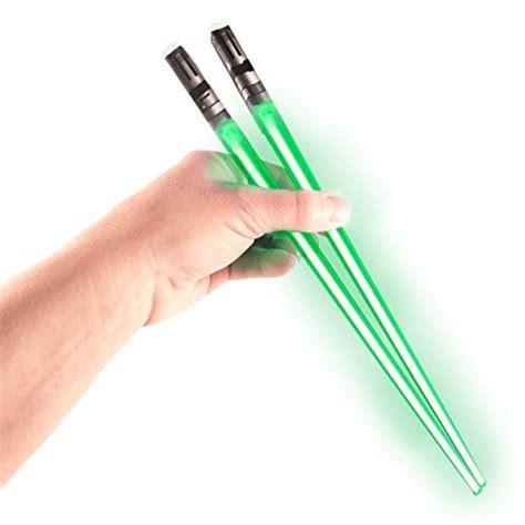 Light Saber Chopsticks by Chop Sabers Light Up Lightsaber Chopsticks Green Pair Ebay