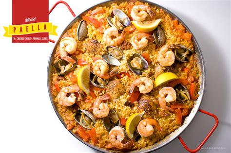 cuisine paella easy paella recipe dishmaps