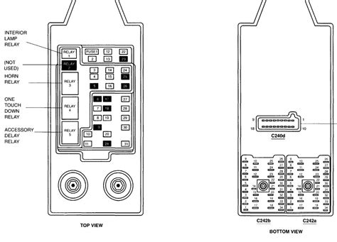 2001 F250 Fuse Panel Diagram by Where Can I Get The Fuse Wiring Diagram For A 2001 F 250