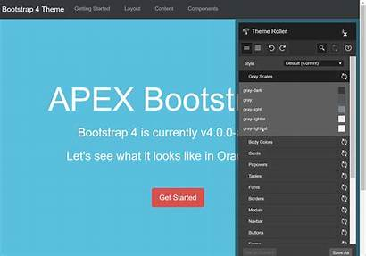 Bootstrap Theme Template Apex Introducing Options