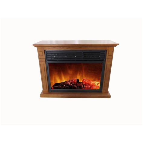 fireplace heater home depot hton bay 48 in media console electric fireplace in