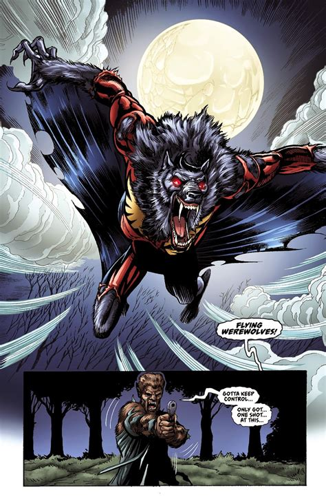 Male Transformations Captain Midnight Werewolf