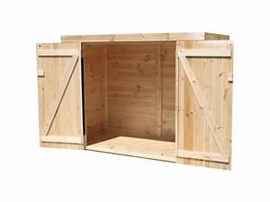 Pouf En Bois : coffre de rangement bois ext rieur pour v lo madeira ~ Teatrodelosmanantiales.com Idées de Décoration