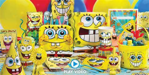 spongebob party supplies spongebob birthday ideas
