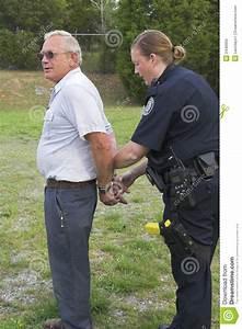 Police arresting suspect stock image. Image of prints ...