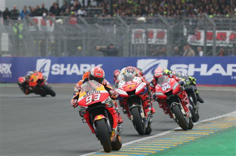 le mans motogp results  updated cycle news