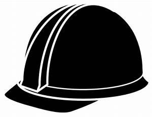 Black Hard Hat Clip Art at Clker.com - vector clip art ...
