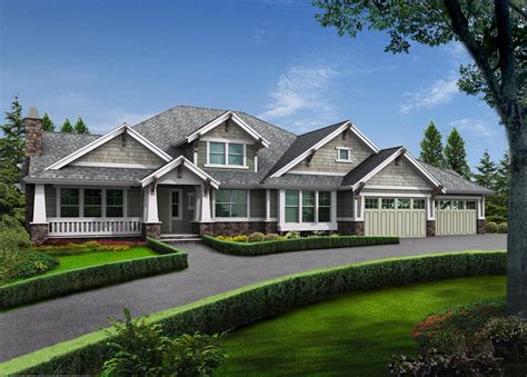 modern rambler  upstairs bonus room jd architectural designs house plans