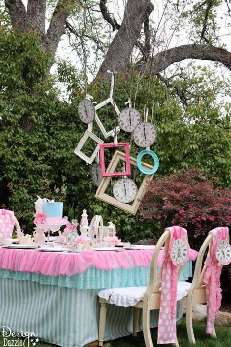 alice and wonderland table decorations vintage glam alice in wonderland party window drinks