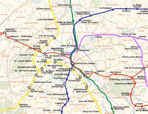 Carte Rer Parisien by Rer Cartes Et Plans De