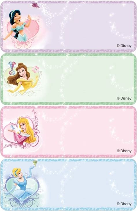 address labels disney labels disney princesses address labels costco check prin