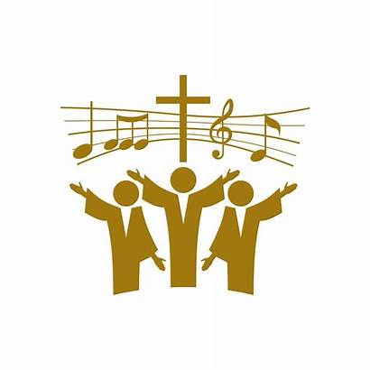 Song Symbols Sing Choir Gospel Church Christian