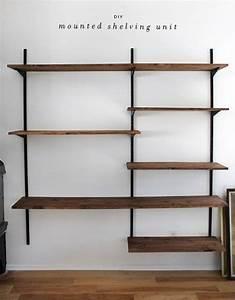 Wall Shelves: Wall Mounted Shelving Systems Wall Mounted ...