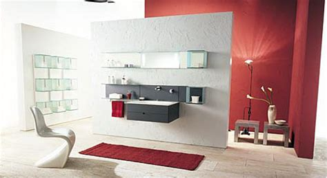 Floating Glass Shelf And Mirror (13 Image)