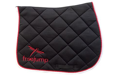 tapis de selle de marque tapis de selle standard l freejump equipements professionnels d equitation