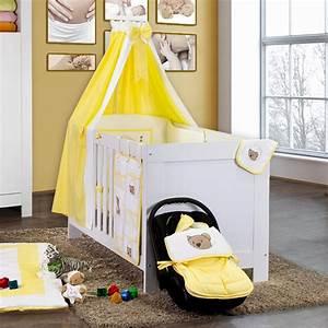öko Möbel Baby : 5 tlg babybettset little bear in gelb baby m bel ~ Michelbontemps.com Haus und Dekorationen