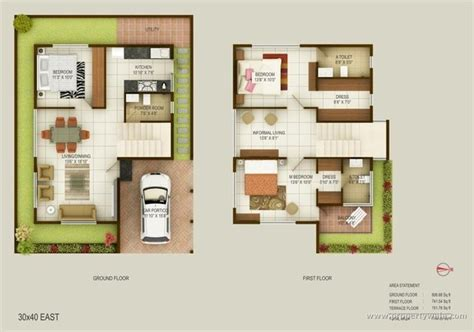 4 bedroom one house plans is a 30x40 square site small for constructing a