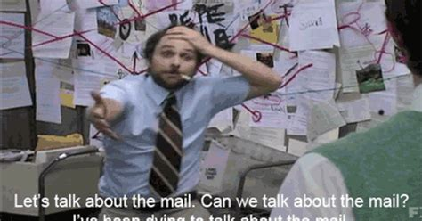 Charlie Day Memes - charlie kelly s legendary mailroom conspiracy gets an intense and impressive drum score