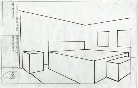 Drawing A Bedroom In Perspective by Bedroom In Blocks Blocks Drawing Rachelgodley