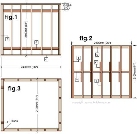 yard shed plans 8x12 diy sanglam