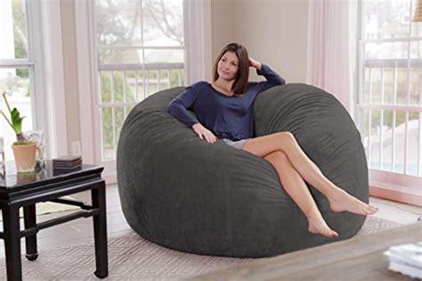 chill sack bean bag chair giant  memory foam furniture