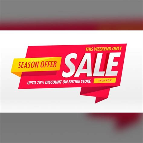sale banner vectors photos and psd files free download