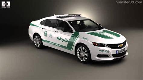 Chevrolet Impala Police Dubai 2014 By 3d Model Store