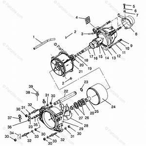 Polaris Watercraft 1996 Oem Parts Diagram For Propulsion