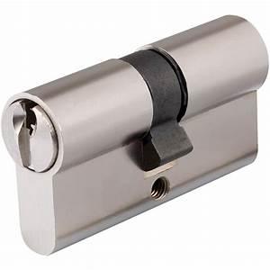 canon a cle pour portail aluminium et portillon aluminium With canon serrure
