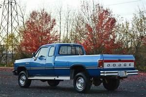 1993 Dodge Ram W250 Club Cab 4x4 5 9l Cummins Diesel 5