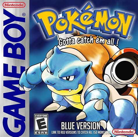 Pokemon Blue Version Gameboygb Rom Download