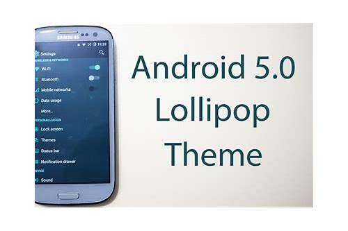 download lollipop for samsung galaxy s3 neo