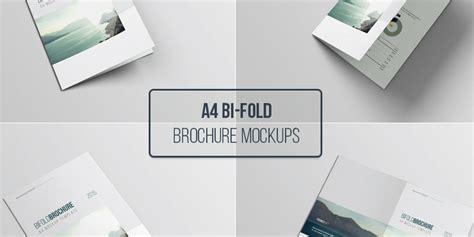 A4 Bifold Brochure Mockup A4 Psd Bifold Brochure Mockup Bypeople
