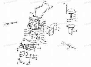 Arctic Cat Atv 1999 Oem Parts Diagram For Carburetor