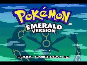Pokemon Version Youtube : pokemon emerald version intro youtube ~ Medecine-chirurgie-esthetiques.com Avis de Voitures