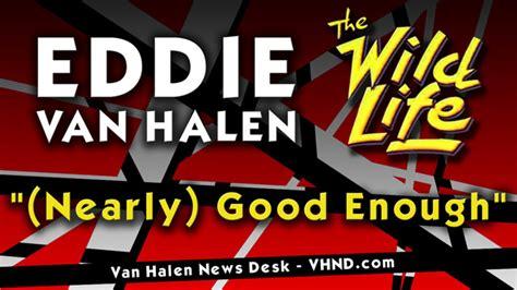 van halen news desk exclusive eddie s nearly good enough instrumental
