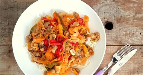 chaine cuisine orange my culinary curriculum poêlée de légumes colorés à l