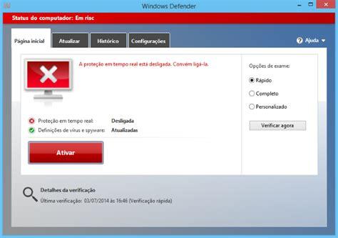Como desativar o Windows Defender para usar outro ...