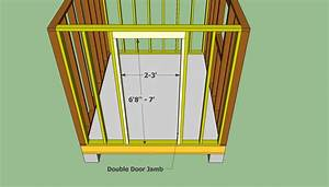 Shed Door Plans   The Way To Build An Amish Shed