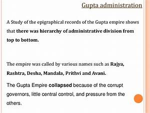 Maurya  U0026 Gupta Empire Final Tnp