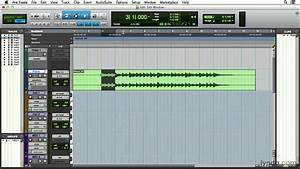 Pro Tools 11 Tutorial  Working In The Edit Window