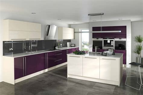 aubergine kitchen tiles sensational white and aubergine kitchen 7 on kitchen 1386