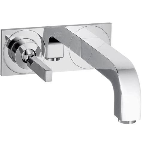 hansgrohe axor citterio wall mounted single handle faucet