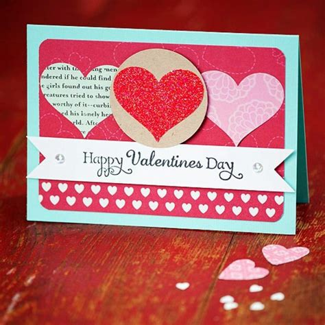 32 Ideas For Handmade Valentine's Day Card Interior