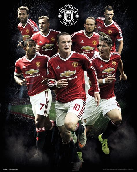 official manchester united   football club players