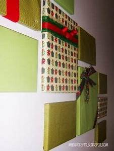 Christmas Wall Decorations on Pinterest