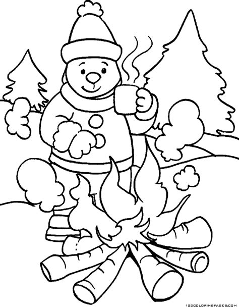 Coloring Weather by Weather Coloring Pages